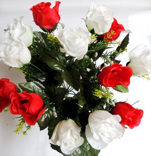 Искуственные цветы buton-13-ka