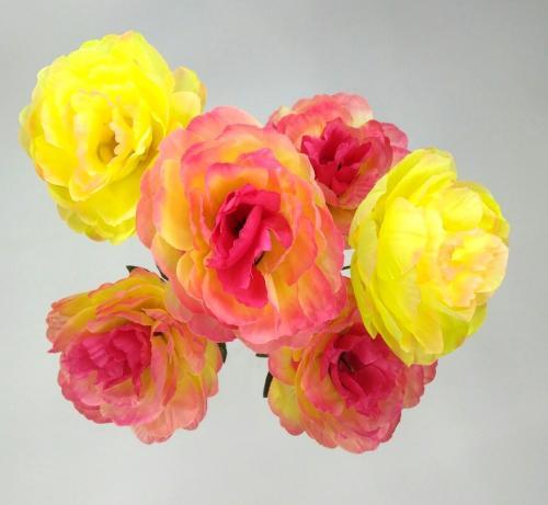 Искуственные цветы Пион натуральный 6-ка 1016