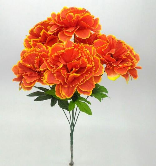 Искуственные цветы Гвоздика - гортензия 1017