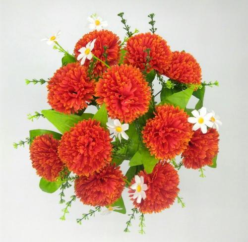 Искуственные цветы gvozdika-11-ka-dekor 1018
