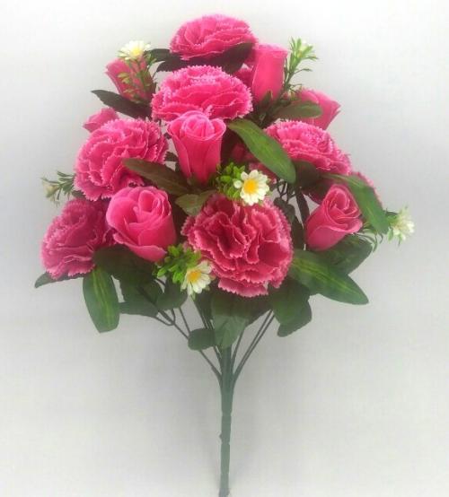 Искуственные цветы Гвоздика - бутон 18-ка 1023