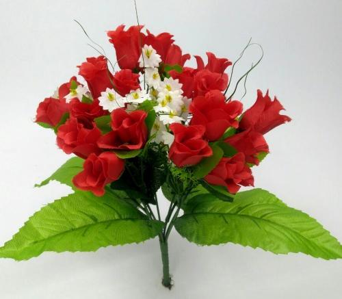 Искуственные цветы Бутончик лист 1025