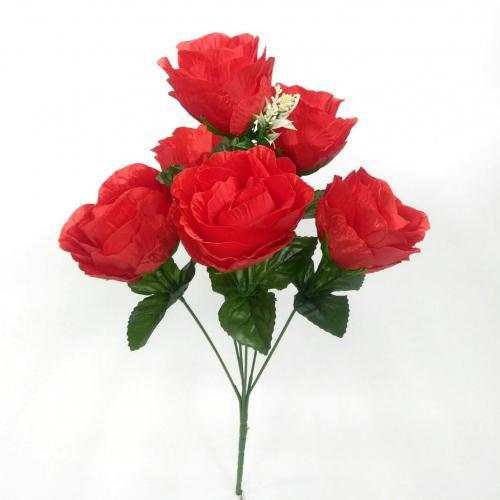 Искуственные цветы Бутон бокал 6-ка 1028