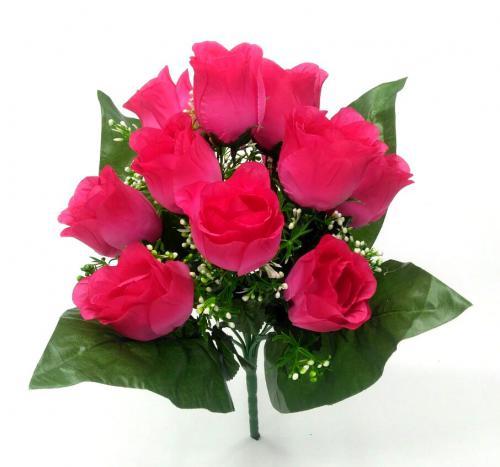 Искуственные цветы Бутон декор 12-ка 1030