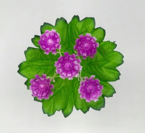 Искуственные цветы Резанная пластиковая 5-ка 1031