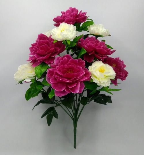 Искуственные цветы Пион Большой 13-ка 1032