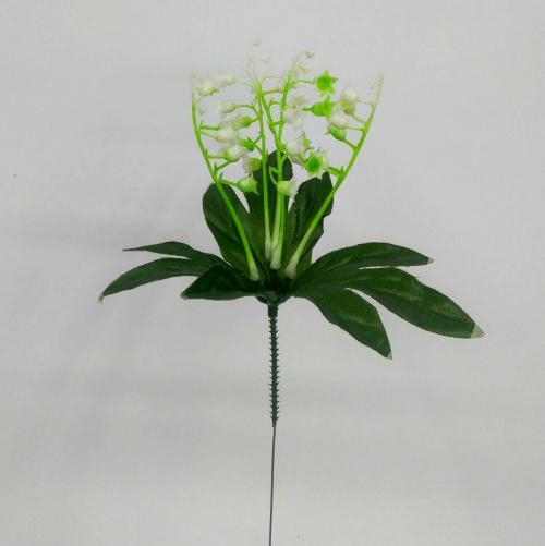 Искуственные цветы Ландыш 5 веток 1035