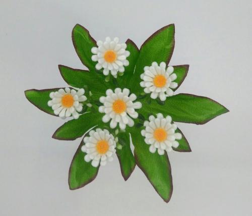 Искуственные цветы Ромашка пластик 1038
