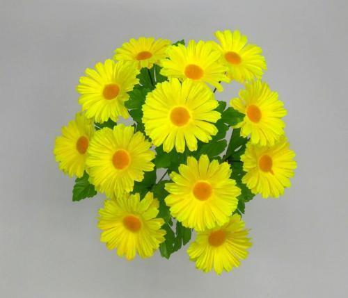 """Искуственные цветы romashka-cvetnaya-12-ka-""""iskusstvennye-cvety"""" 1043"""