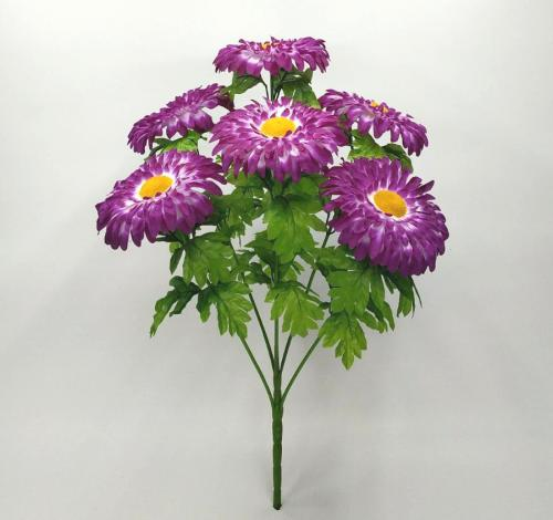 Искуственные цветы Ромашка цветная В 7-ка 1045