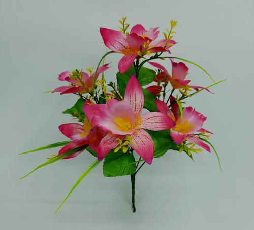 Искуственные цветы Ирис 7-ка С 1048