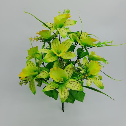 Искуственные цветы Ирис 11-ка С 1049