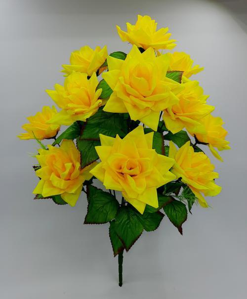 Искуственные цветы Роза острая 13-ка 1054