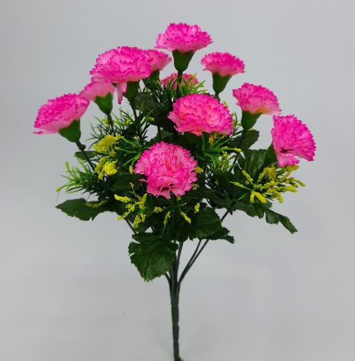 Искуственные цветы Гвоздика декор 11-ка 1057