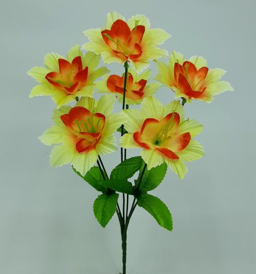 Искуственные цветы Звездочка дешевка 6-ка 1065
