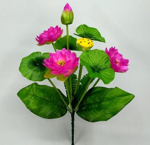 Искуственные цветы Лотос декор 1073