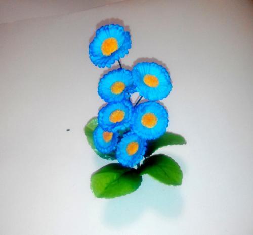 Искуственные цветы margaritka-vetochka 315