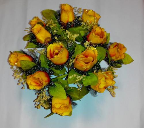 Искуственные цветы buton-zoloto-sushka-12-ka 449