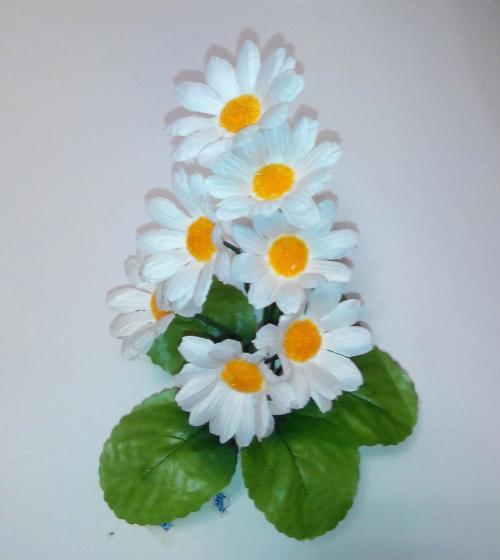 Искуственные цветы romashka-vetochka-7-ka 458