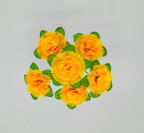 Искуственные цветы gvozdika-list-6-ka-n 580