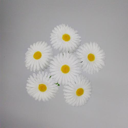 Искуственные цветы romashka-6-ka-b 606