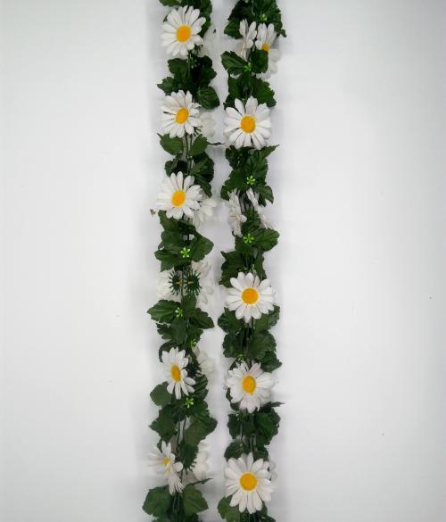 Искуственные цветы romashka-list 607