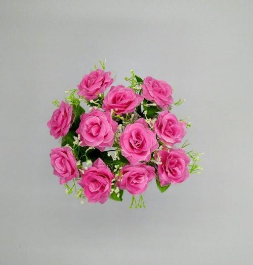 Искуственные цветы roza---nevesta 651