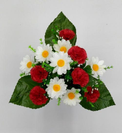 Искуственные цветы gvozdika---romashka-dek