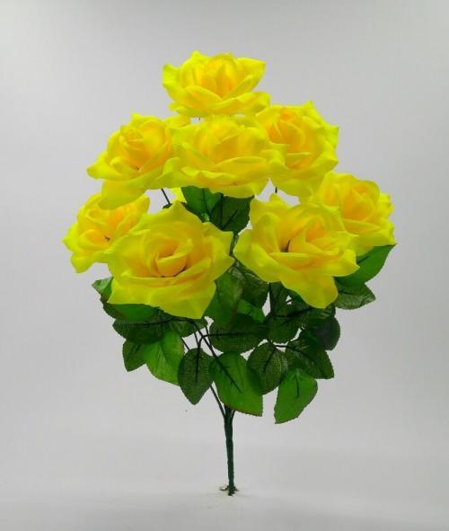 Искуственные цветы roza-9-ka-kl 688