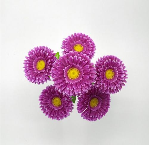 Искуственные цветы gerbera-6-ka-n 694