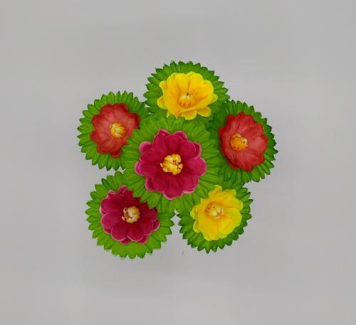 Искуственные цветы pionchik-cv-list 698