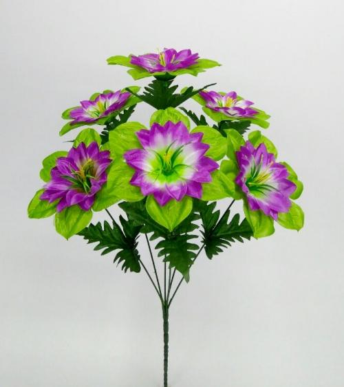 Искуственные цветы lotos-list-6-ka 713