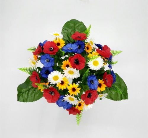Искуственные цветы polevoj-45-golov 719