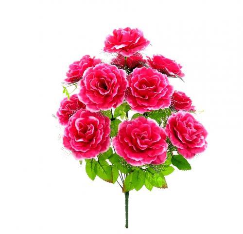 Искуственные цветы roza-pion-fatin-9-ka 736