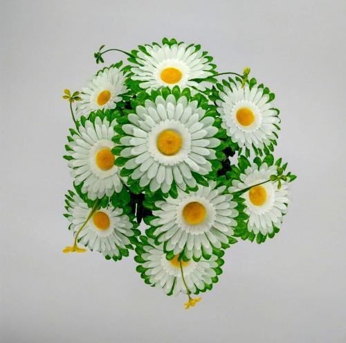 Искуственные цветы romashka-listok-9-ka