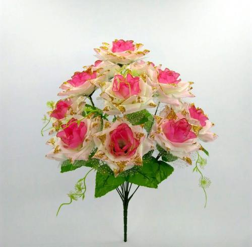 Искуственные цветы roza-12-ka--sr 747