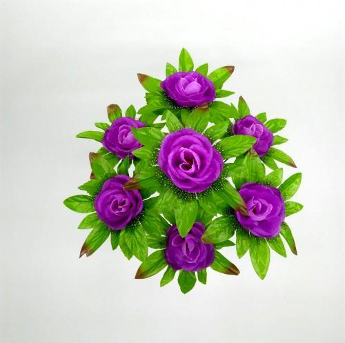 Искуственные цветы roza-fatin-list