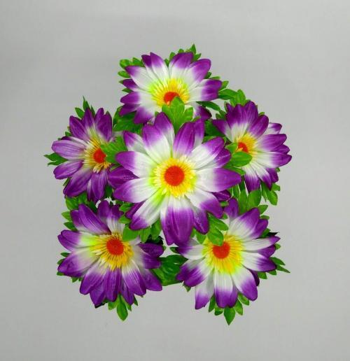 Искуственные цветы romashka-cvetnaya-list 754