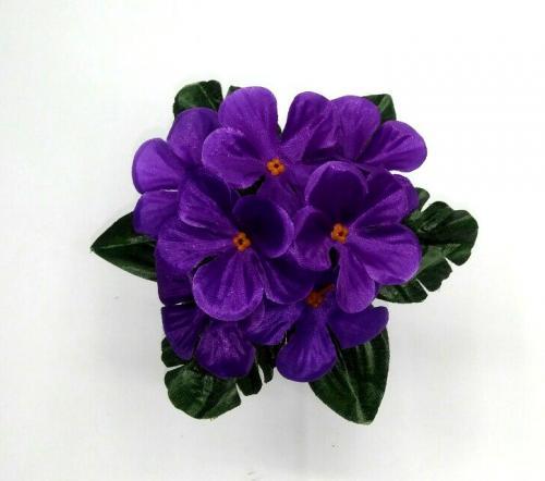 Искуственные цветы fialka-atlas-n 760