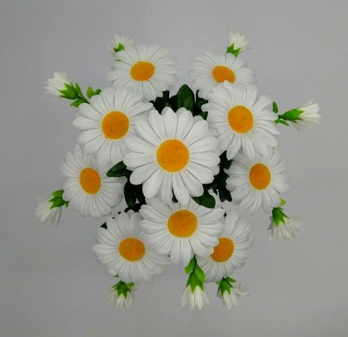 Искуственные цветы romashka-dekor-detki