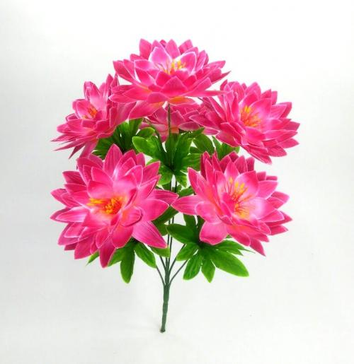 Искуственные цветы lotos-gigant-atlas 784