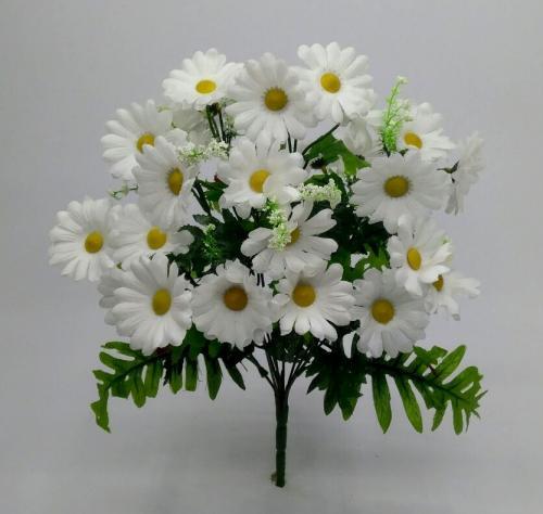 Искуственные цветы romashka-cvetnaya