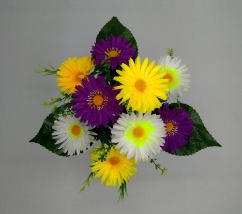 Искуственные цветы romashka-9-ka-miks 788
