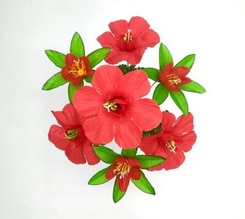 Искуственные цветы pion---liliya