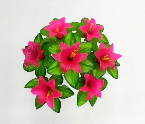 Искуственные цветы kolokolchik-plastmas-7-ka 792