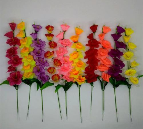 Искуственные цветы narciss-vetka