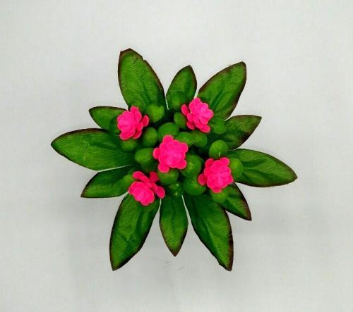 Искуственные цветы rozochka-plastmass-5-ka 798