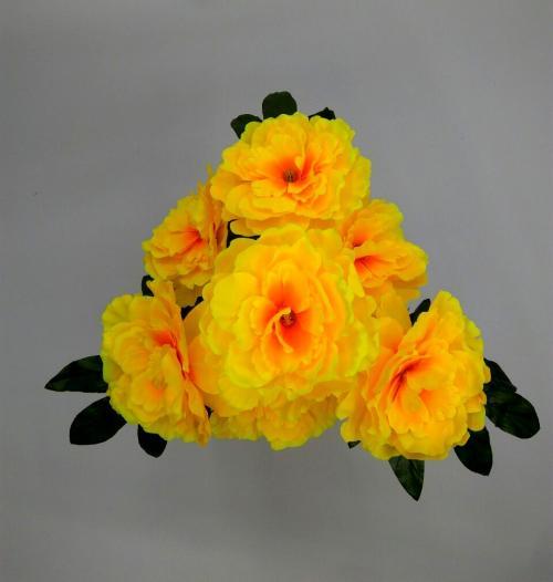 Искуственные цветы pion-trubochka