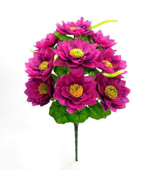 Искуственные цветы lotos-10-ka