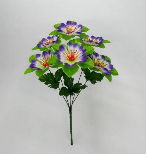 Искуственные цветы lyutik-list-ne-pressovka 852